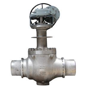 Cryogenic Double Eccentric C Ball Valve