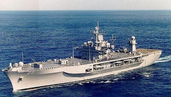 USS Mount Whitney (LCC JCC 20) 1970